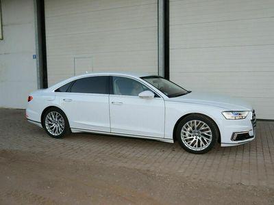 gebraucht Audi A8L 60 TFSI e lang*WEIß-SPORTSITZE BEIGE*B&Oadv.