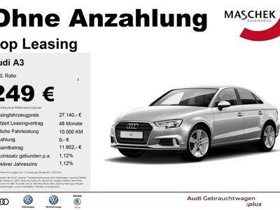gebraucht Audi A3 Limousine S line 2.0 TDI AHK DAB GRA Navi Led S