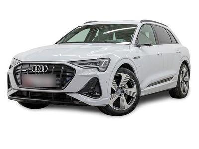 gebraucht Audi E-Tron - 50 Q S LINE BAFA! PANO S-SITZE V-SPIEGEL LM21