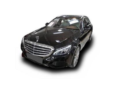 "gebraucht Mercedes C350e CT Avantgarde Airmatic AMG19"""" AHK LED Nav"