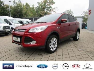 gebraucht Ford Kuga Titanium 2.0 TDCi Leder Navi Keyless ACC Parklenka