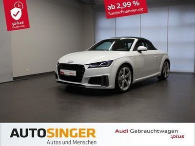 gebraucht Audi TT Roadster 45 TFSI qua 2x S line *LED*Navi*DAB*