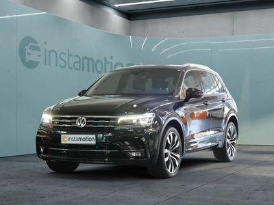 gebraucht VW Tiguan Tiguan2.0 TDI SCR Highline R-Line 4MOTION BMT