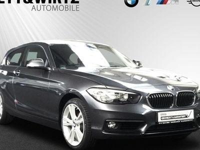 käytetty BMW 118 d 3-Türer Aut. 18''LM Navi Klima Sitzhzg PDC