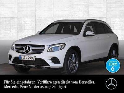 gebraucht Mercedes GLC250 4M AMG Sportpak COMAND ILS LED AHK Night