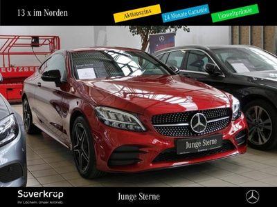 gebraucht Mercedes C180 AMG Line Coupe NIGHT+SOUND+KAMERA+NAVI+LED