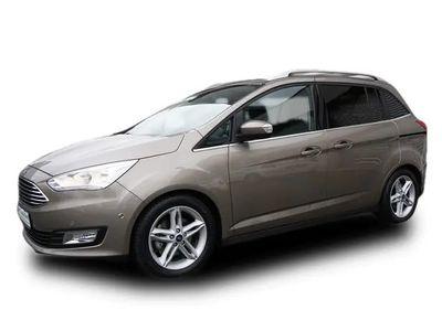 gebraucht Ford Grand C-Max Titanium Navi R/Cam-EasyPark 7Sitze Winter Paket-elektr Heckklappe Lenk/SHZ