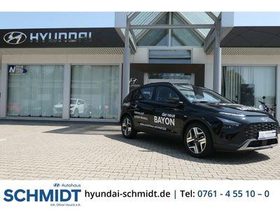 gebraucht Hyundai Bayon Intro 1.0 T-GDi DCT Navi ACC Rückfahrkam. LED-Tagfahrlicht Multif.Lenkrad Klimaautom