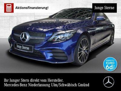 gebraucht Mercedes C400 Cp. 4M AMG Pano Multibeam COMAND AHK Kamera