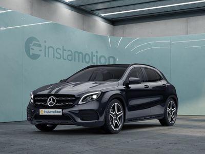 gebraucht Mercedes GLA220 GLA 2204M AMG Sport Night Standhz. Abstandstemp