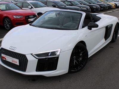 gebraucht Audi R8 Spyder Keramik Carbon Laser SportAGA DAB Allrad LED Navi Kamera Automatik Keyless