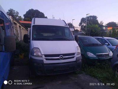 gebraucht Opel Movano 2.5 CDTI L1H1