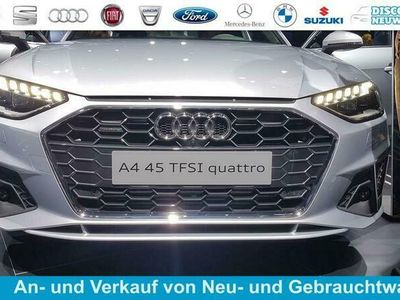 gebraucht Audi A4 Limousine advanced MJ 2020/KLIMAAUT/ALARM