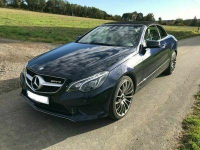 gebraucht Mercedes E250 CDI BlueEFFICIENCY Cabrio/VOLL/MB GARANTIE