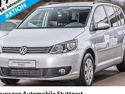 gebraucht VW Touran 1.6 TDI Comfortline 7-Sitzer Navi AHK