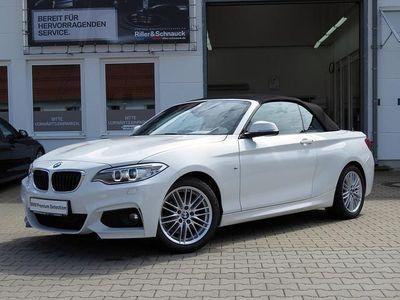 gebraucht BMW 218 2er d Cabrio M-Sportpaket NAVI DAB HiFi XENON PDC