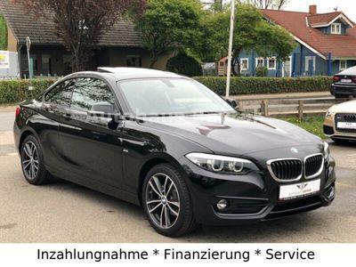 gebraucht BMW 218 2 Coupe d Sport Line SHZ/PDC/TEMPOMAT