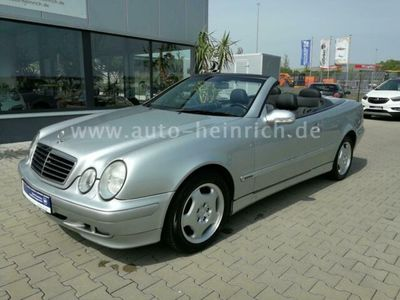 gebraucht Mercedes CLK320 Cabrio Elegance Leder Klimaautom. 1. Han