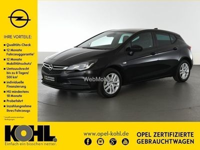 gebraucht Opel Astra 1.4 Turbo 125 PS PDC Navi Sitzhzg. uvm.