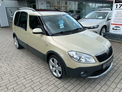 gebraucht Skoda Roomster Scout Plus Edition´´2.HND-S.HEFT- EU5´´