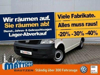 gebraucht VW T5 Kasten 2.5 TDI AHK/SHZ/KLIMA/DOPPELSITZBANK/T