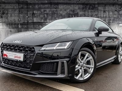 gebraucht Audi TT Coupé 40TFSI S-trc S-line LED GRA Einparkh Sitzh