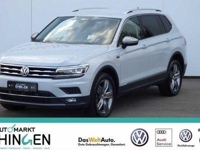 gebraucht VW Tiguan Allspace Highline 2.0 TDI 4Motion DSG 7-Sitzer AHK LED