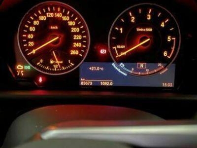 gebraucht BMW 218 d weiß
