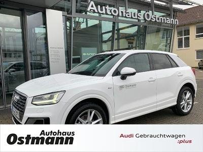 gebraucht Audi Q2 35 TFSI S-tronic sport quattro KLIMA LED NAVI LEDER ALU