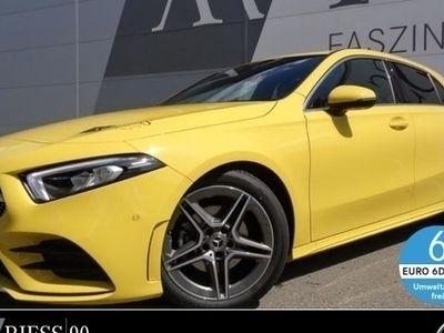 gebraucht Mercedes A200 Kompaktlimousine AMG*LED*Navi*MBUX*7G-DCT*