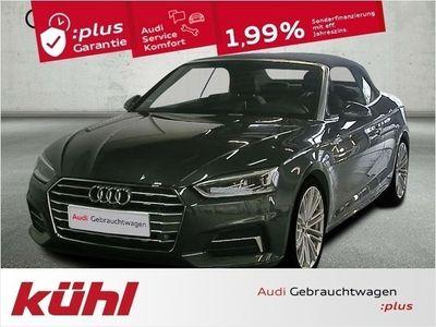 gebraucht Audi A5 Cabriolet 2.0 TFSI S tronic Sport LED 19 Zoll (Nav