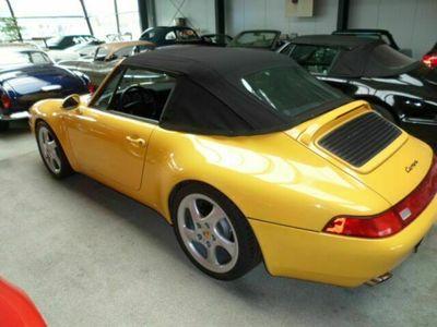 gebraucht Porsche 993 C2 Cabriolet 6 Gang original als Cabrio/Roadster in Dortmund-Schüren