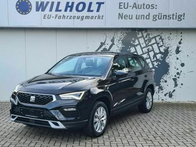 gebraucht Seat Ateca LED/Android Auto/FrontAss/Lenkrhzg/Sitzhzg