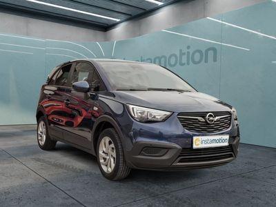 gebraucht Opel Crossland X Crossland XEdition 1.2Turbo Navigation Tempomat Parklenkassist.Klimaauto.+SHZ PDCvo+hi+Kamera Alu