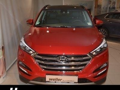 gebraucht Hyundai Tucson 1.6 T-GDI Premium 7-DCT 4WD Schiebedach