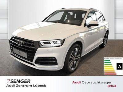 begagnad Audi Q5 sport 40 TDI quattro Tempomat LED 20' Navi