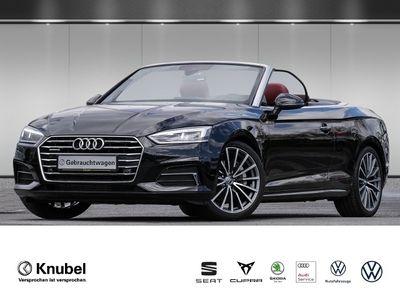 gebraucht Audi A5 Cabriolet design 2.0 TFSI qu. S tronic Nav+ LED Feinnappa Kopfraumh.