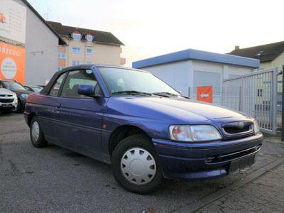 gebraucht Ford Escort Cabriolet 1.6 ltr/2.Hand/SR+WR/Nichtraucher