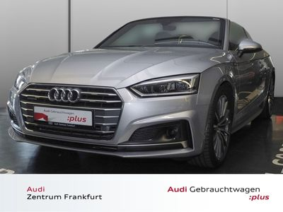gebraucht Audi A5 Cabriolet 2.0 TDI quattro S tronic S line Navi