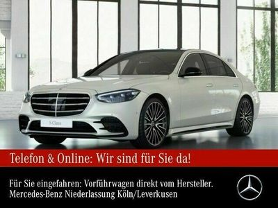 gebraucht Mercedes S400 d 4Matic AMG Line Sportpaket Bluetooth Navi Klima