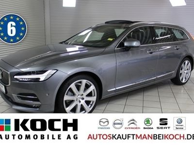 gebraucht Volvo V90 D5 AWD Inscription IntelliS Park-Assist LED BW