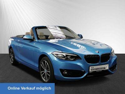 gebraucht BMW 220 d Cabrio Sport Navi Leas. ab 355,- br.o.Anz.