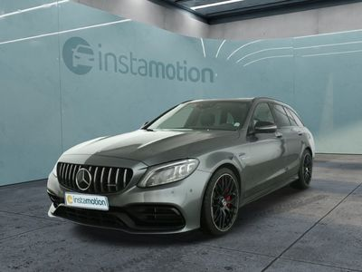 gebraucht Mercedes C63 AMG C 63 AMGAMG S T-Modell Night Panorama 4xHighEnd Vmax