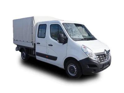 gebraucht Renault Master 2.3 dCi DoKa Pritsche Klima 7 Sitze AHK