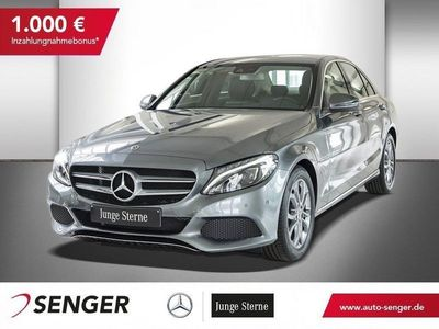 gebraucht Mercedes C180 AVANTGARDE+NAVI+LED+SHZ+BUSINESS PAKET +