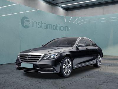 gebraucht Mercedes S560 5604M lang Distronic HUD Pano Burmester 360°