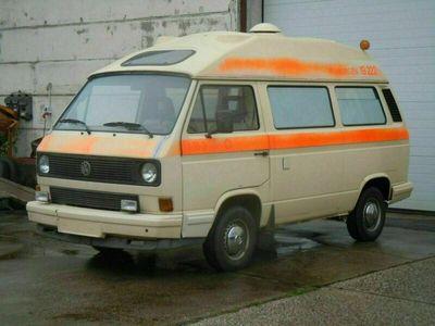 gebraucht VW T3 BusKrankenwagen mit Dehler Profi Ho...