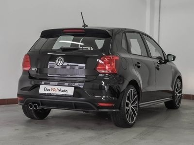 "gebraucht VW Polo 1.8TSI ""GTI"" Navi,PDC,Sitzh. KLIMA LEDER ALU"