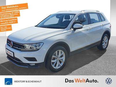 gebraucht VW Tiguan 2.0 TDI DSG 4Motion Highline AHK Navi LED