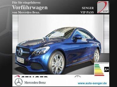 gebraucht Mercedes C220 d Coupé Pano.-Dach, NAVI, LED, Park-Paket Navi